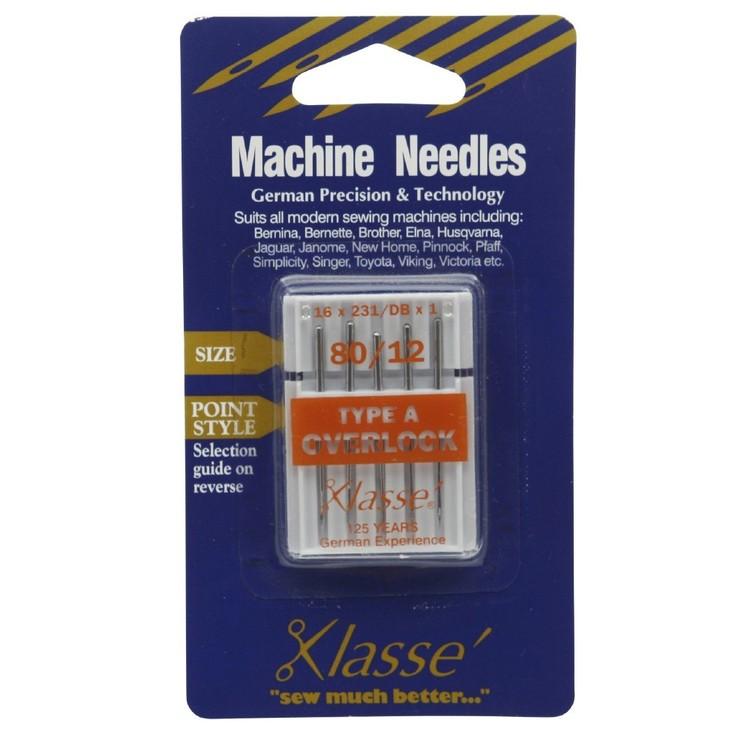 Klasse Type A Overlocker Needles