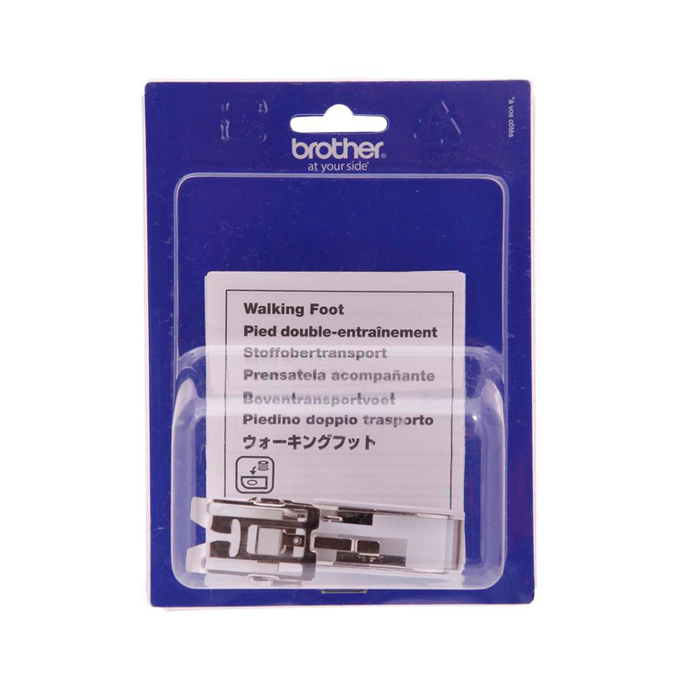 Brother Walking Foot F033 Silver & White 7 mm