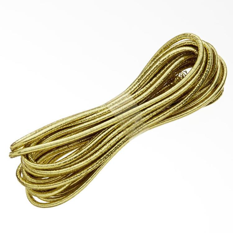 Birch Metallic Cord Elastic