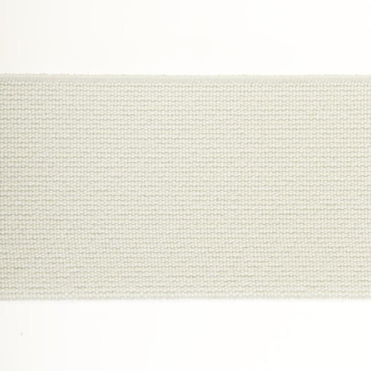 Birch Elastic Loom White 38 mm x 1 m