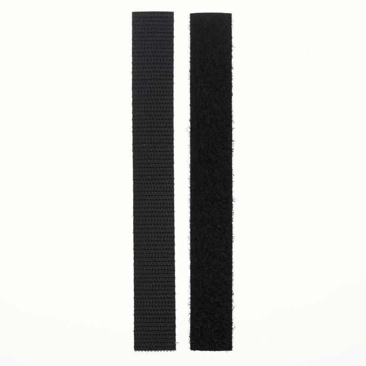 VELCRO® Brand Iron On Tape 1 Black 20 mm
