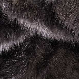 Plain 148 cm J305 Fox Fur Fabric