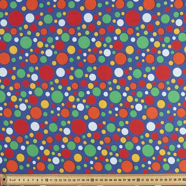 Spots & Stripes 112 cm Medium Spot Cotton Fabric