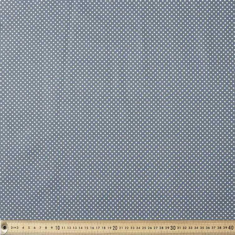 Spots & Stripes 112 cm Pinspot Cotton Poplin