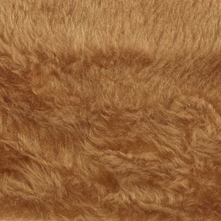Plain 75 cm Columbia Faux Fur Fabric