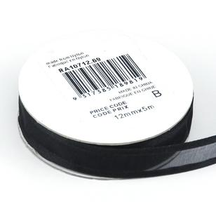 Celebrate 12 mm Organza Satin Edge Ribbon