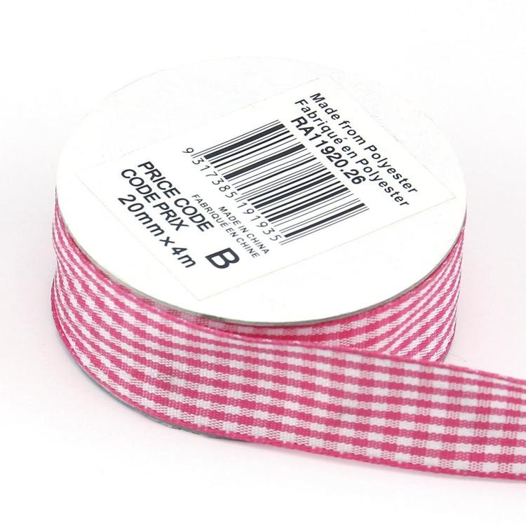 Celebrate 20 mm Gingham Ribbon