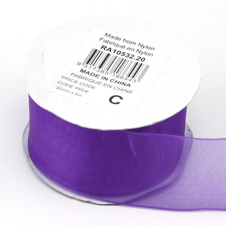 Celebrate 32 mm Organza Ribbon