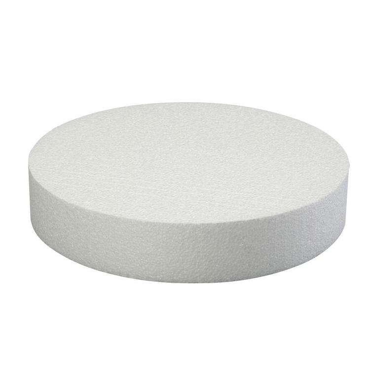 Roberts Edible Craft Foam Round Cake Dummy White