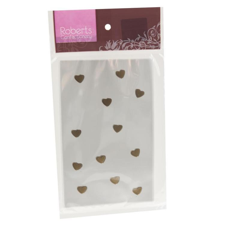 Roberts Confectionery Cello Bags Heart