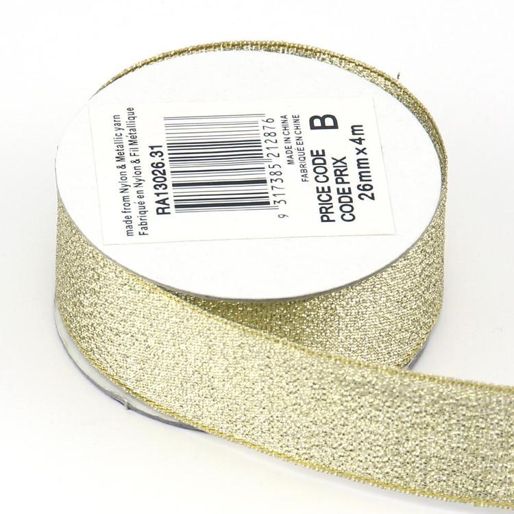 Celebrate 26 mm Metallic Ribbon
