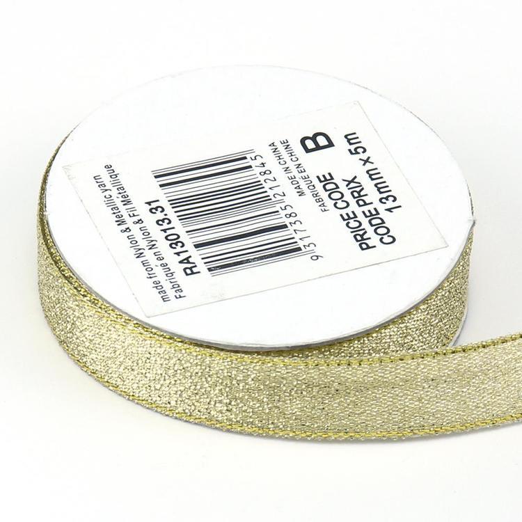 Celebrate 13 mm Metallic Ribbon