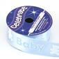 Celebrate 25 mm Satin Baby & Teddy Ribbon Baby Blue 25 mm x 3 m