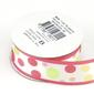 Celebrate 25 mm Satin Spots Ribbon