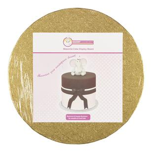 Roberts Confectionery Round Masonite Cake Board