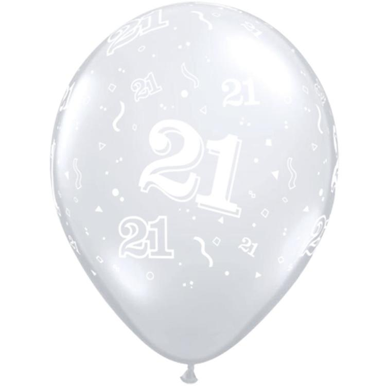 Qualatex 21st Latex Balloon
