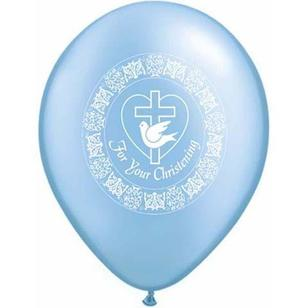 Qualatex For Your Christening Latex Balloon