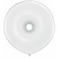 Qualatex Donut Latex Balloon White