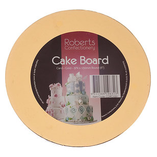 Roberts Confectionery Round Cake Board 3 Pack