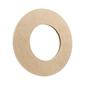 Kaisercraft Small Round Mirror Natural 25 x 25 cm