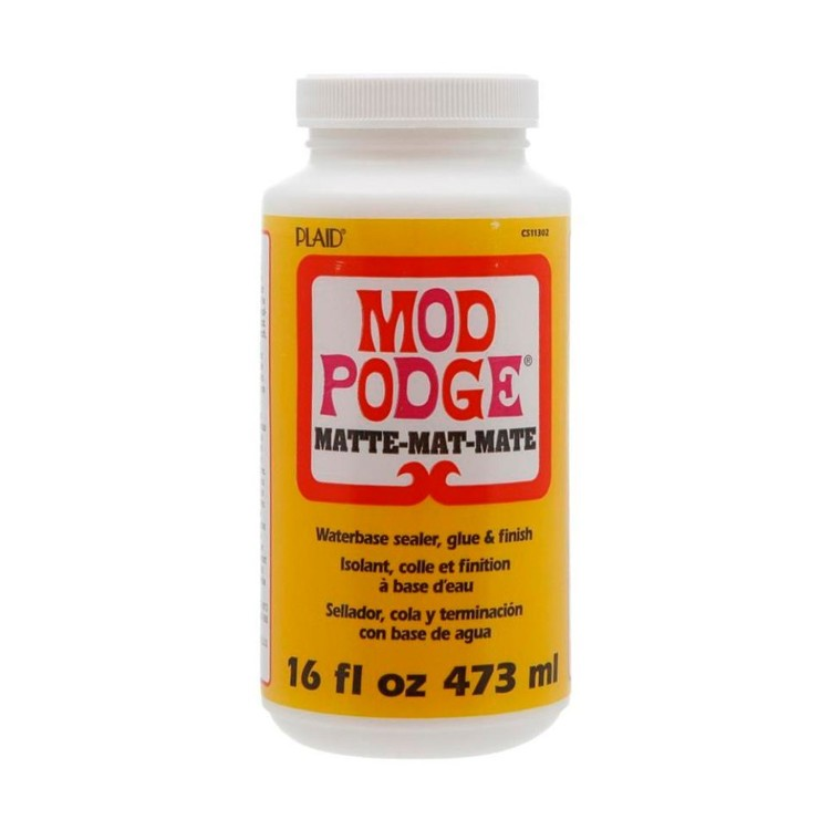 Plaid Mod Podge Matte Glue White 16 oz