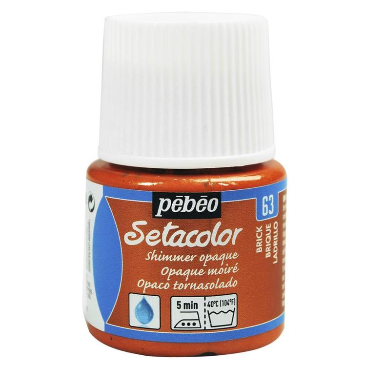 Pebeo Setacolour Shimmer Colour Paint