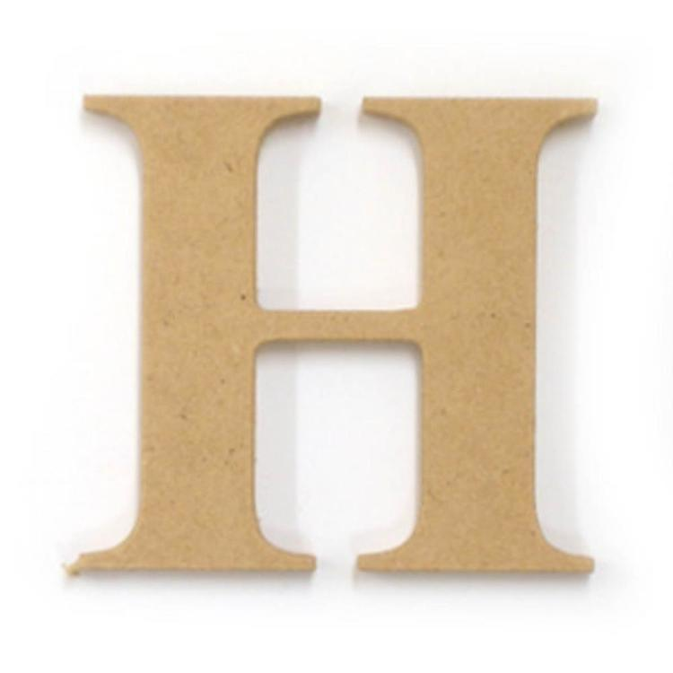 Kaisercraft Wood Letter H