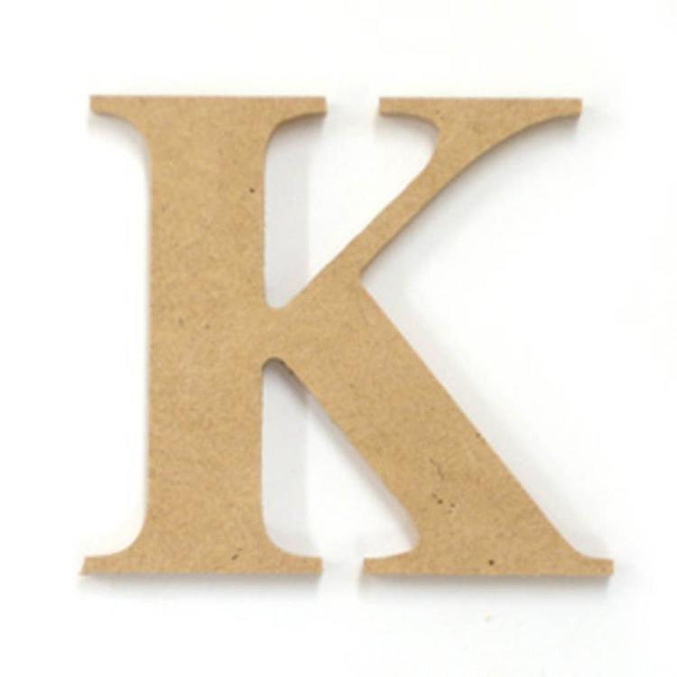 Kaisercraft Wood Letter K