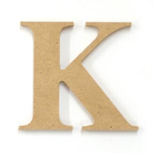Kaisercraft Wood Letter K