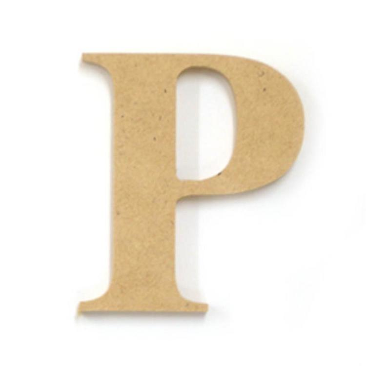 Kaisercraft Wood Letter P