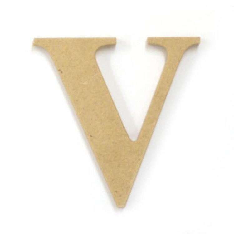 Kaisercraft Wood Letter V