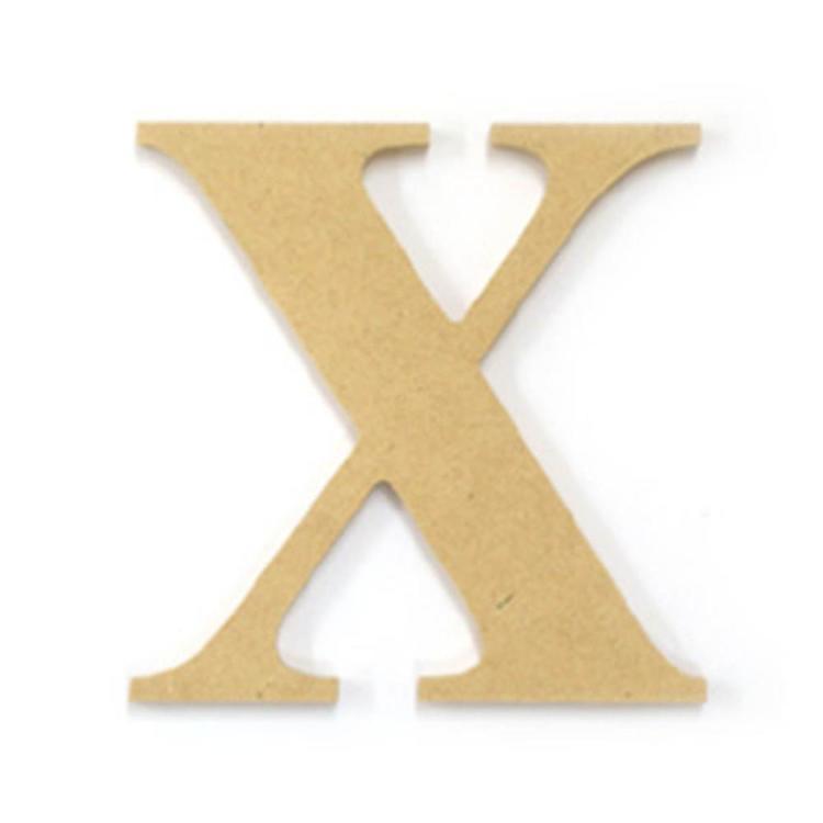 Kaisercraft Wood Letter X