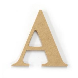 Kaisercraft Wood Letter A