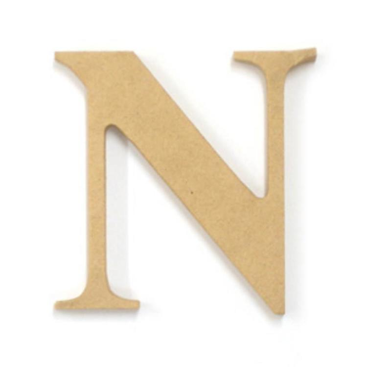 Kaisercraft Wood Letter N