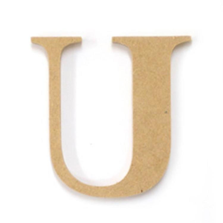 Kaisercraft Wood Letter U