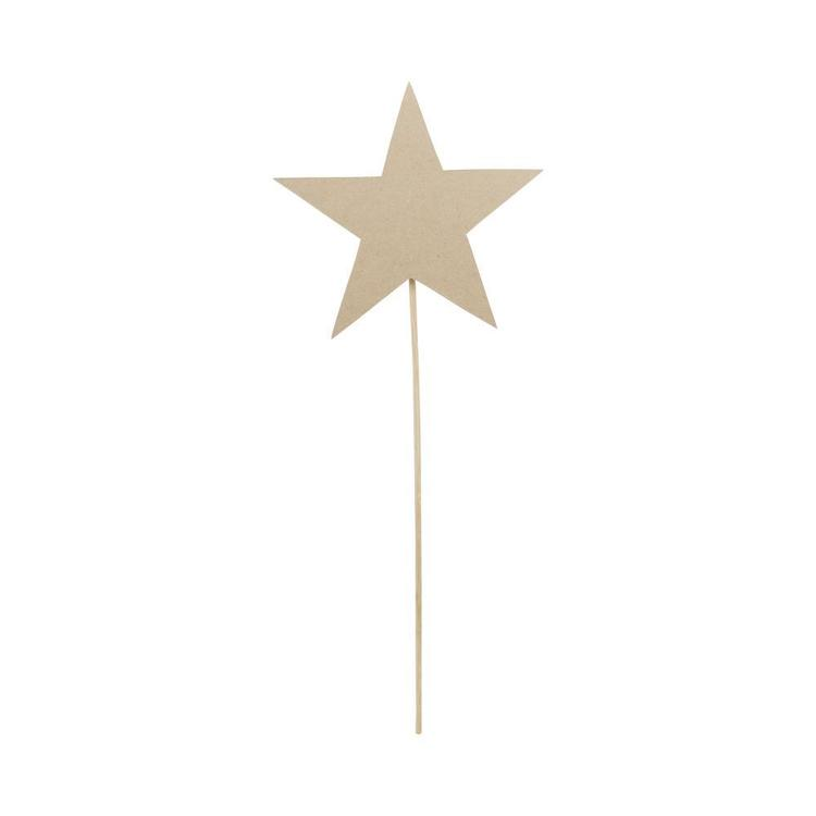 Shamrock Craft Wooden Star Wand