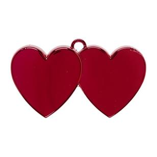 Amscan Red Electro Double Heart Balloon Weight