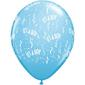 Qualatex It's A Boy 28 cm Latex Balloon Pale Blue