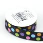 Celebrate Grosgrain Dots Ribbon Multicoloured