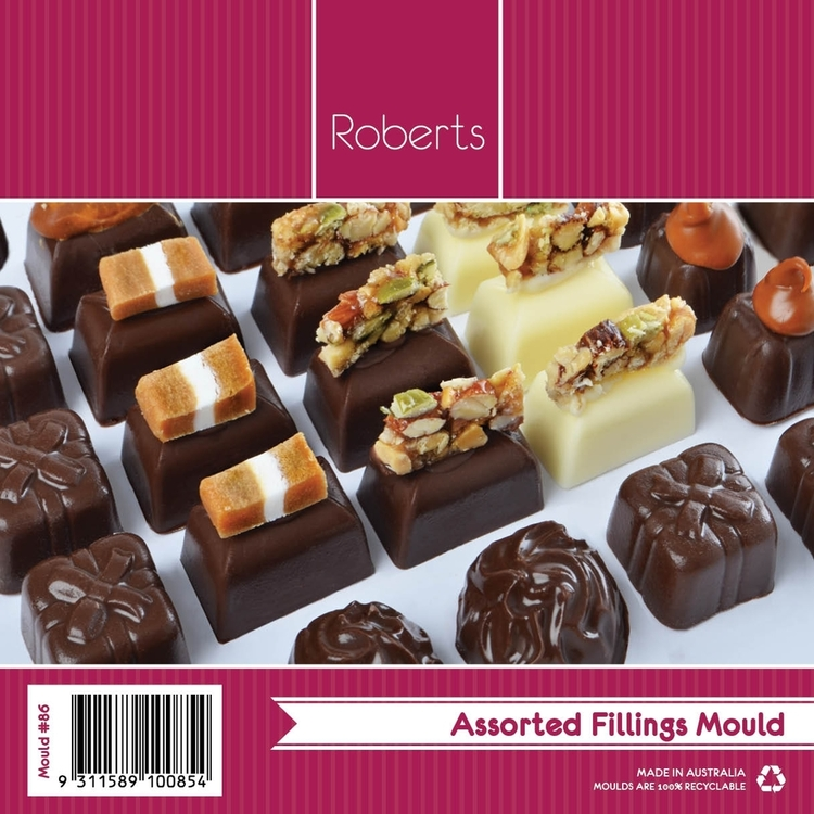 Roberts Edible Craft Deep Fill Square Shape Chocolate Mould