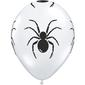 Qualatex Spider All Over Latex Balloon Diamond Clear