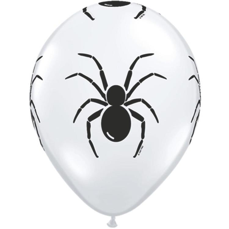 Qualatex Spider All Over Latex Balloon