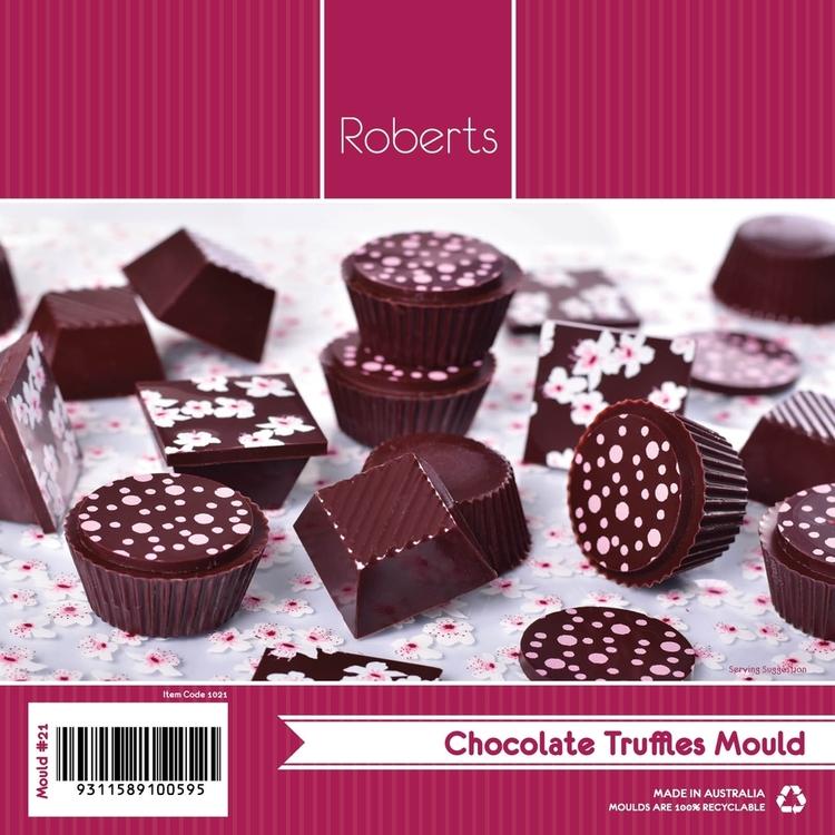 Roberts Round & Pyramid Chocolate Truffle Mould