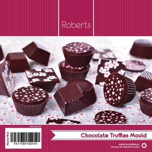 Roberts Edible Craft Round & Pyramid Chocolate Truffle Mould