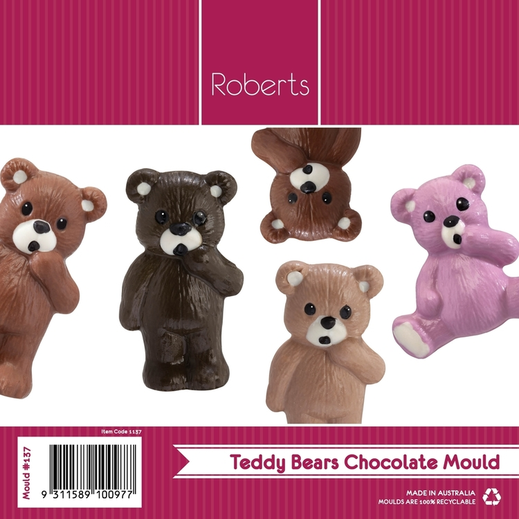 Roberts Edible Craft Teddy Bear Chocolate Mould