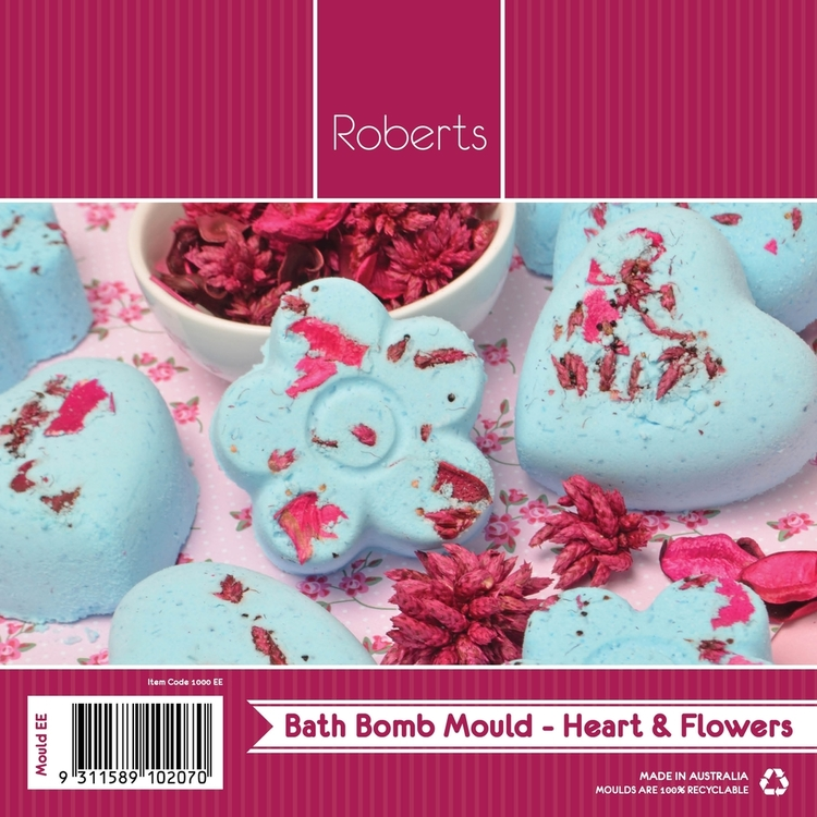 Roberts Flower & Hearts Chocolate Mould