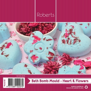 Roberts Edible Craft Flower & Hearts Chocolate Mould