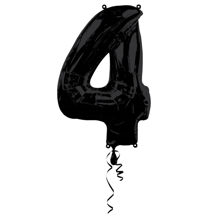 Qualatex Number Foil Balloon