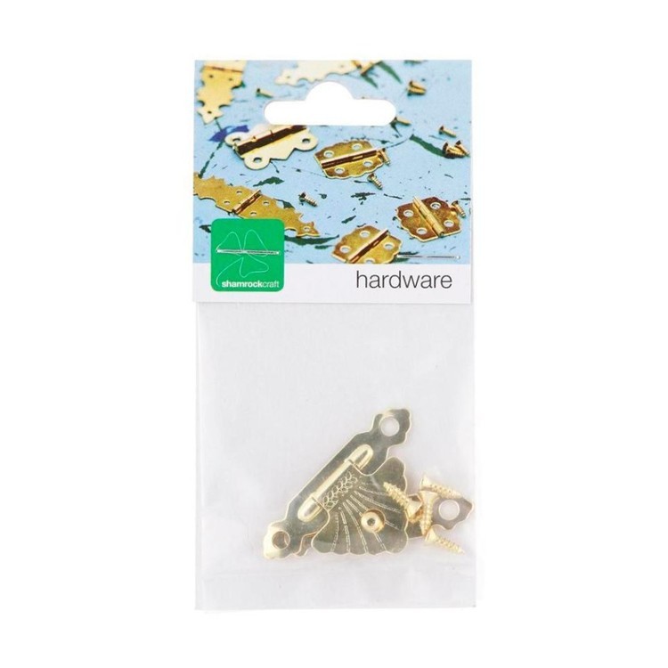 Shamrock Craft Brass Catch Gold