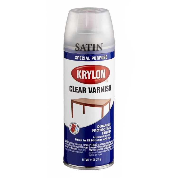 Krylon Varnish Satin White